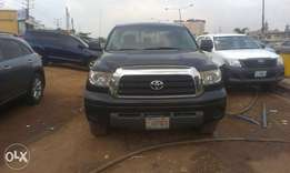 Buy and drive a neatly sparkling tundra toks