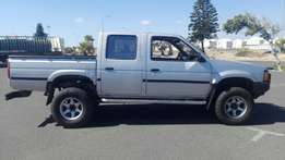 Nissan Hardbody Double Cab 4x4 2.4 5 Speed in Good Condition and Neat