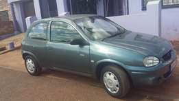 a nice two door opel corsa lite with all papers in order,also clean ..