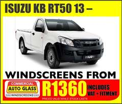 Isuzu kb rt50 13- windscreen specials