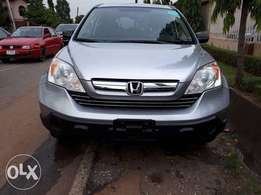 Extra clean and sharp foreign used Silver Honda CR-V 2008 model