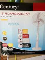 "16"" rechargeable standing fan"