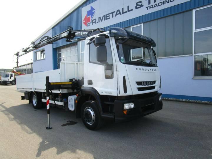 Iveco 120E22 Eurocargo Ladekran MKG HLK 86 3xhydr. - 2012