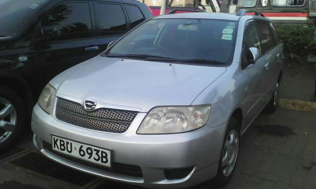 1500 cc Toyota Fielder very clean on quick sell Nairobi CBD - image 8
