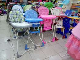 Baby high chair each has different pice
