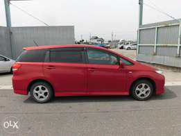 Toyota wish new shape valve matic brand new car
