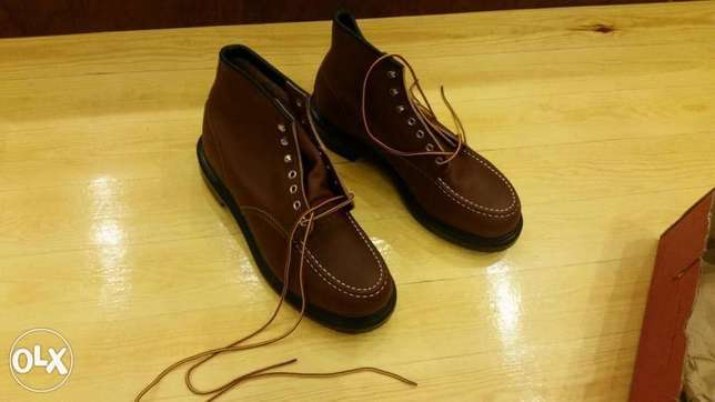 8249 Red wing safety boot size 43.5 , بوت سافتي ريدونج امريكي مقا