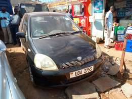 Toyota vitz model 1999 black colour in excellent condition
