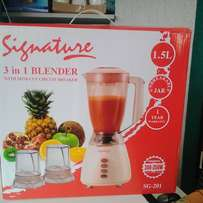 3 in one blender with warranty
