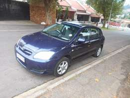 Toyota Runx 1.6 rs 2007 model blue in colour 95000km R81000