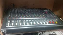 powered mixer 12 channel