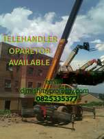 Telehandler operator machine available