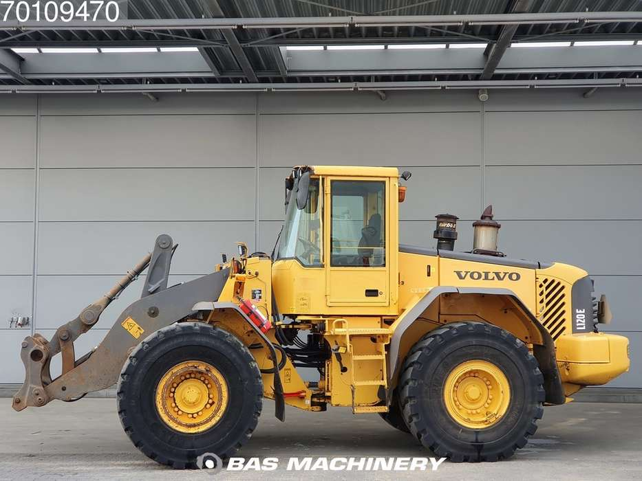 Volvo L120E From first owner - nice machine - 2003 - image 6