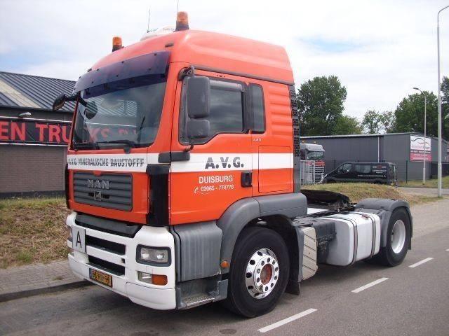 MAN TGA 18.440 TIPPERUNIT+COMPRESSOR+TUV+HOLL.TRUCK - 2007
