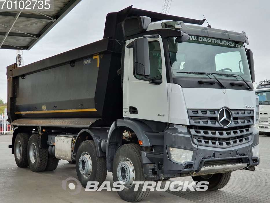 Mercedes-Benz Arocs 4145 S 8X4 Big-Axle Steelsuspension 27m3 Hydraulik ... - 2018 - image 3