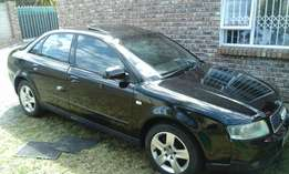 2004 Audi A4 1.9TDI for sale with engine problem, body still neat