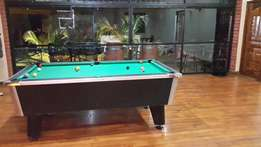 Slate pool table