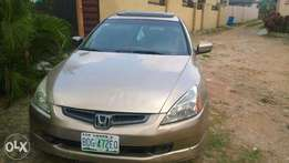 Neatly Used Honda Accord 2003 Brown For Sale