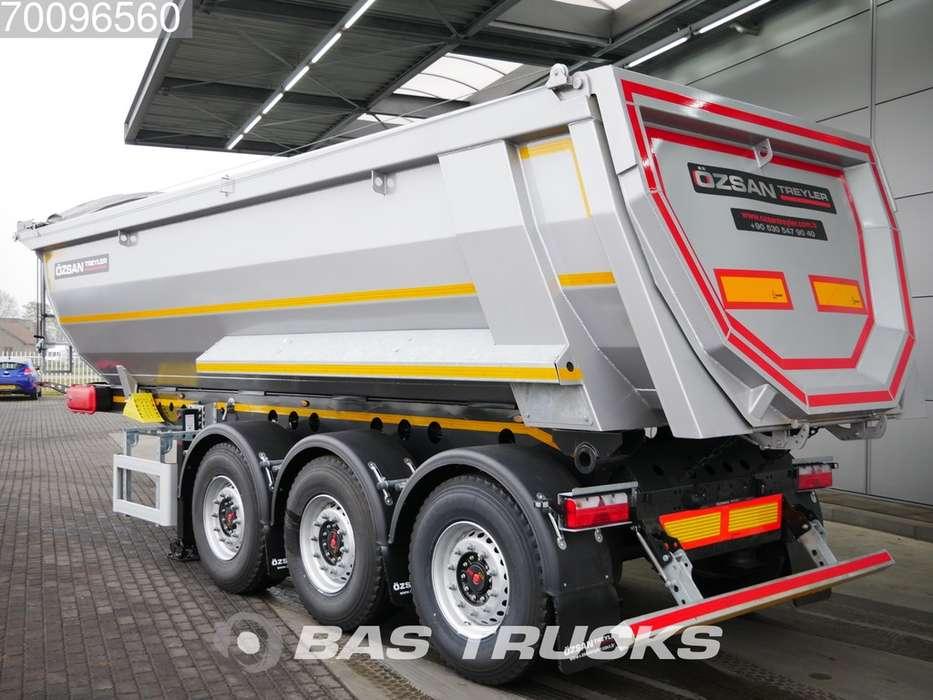 Ozsan 24m3 Stahlkipper 2x SAF Liftachse WABCO - 2019