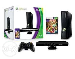 Xbox 360 500 gig + Kinect plus 14 games and controller