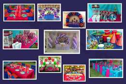 Kids party business package and themed party decor for sale