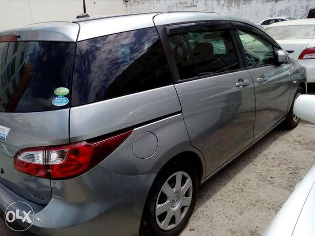Mazda premacy new shape new plate number silver color fresh import Mombasa Island - image 4