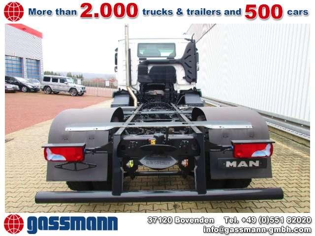 MAN Tgm 18.290 4x2 Bl Kehmaschinenfahrgestell Ohne - 2007