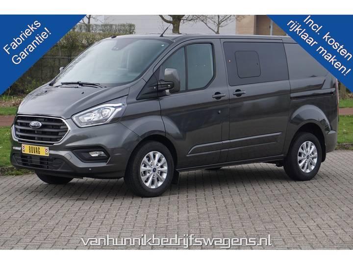 Ford Transit Custom 300S 130PK 2.0 TDCI Limited Dubbel Cabine ... - 2019