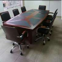 Conference table by 8 executive
