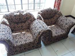 Five seater sofa 3+1+1 - Very Good condition! Quick Sale!
