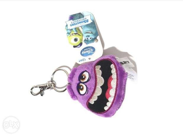 Disney monster university keychain violet