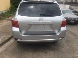 Toks 2010 toyota highlander fullest option