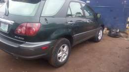 Registered Lexus RX 300 used 2000 model super clean