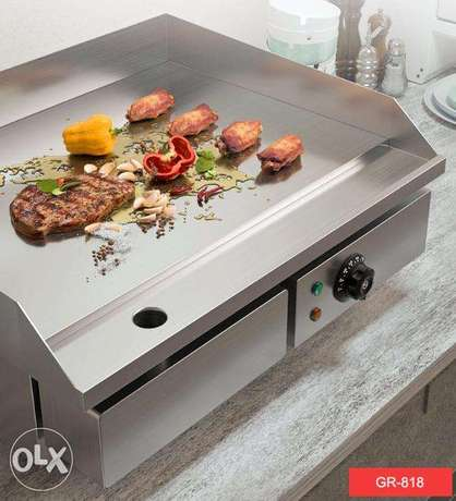 Full Flat Electric Grill Griddle