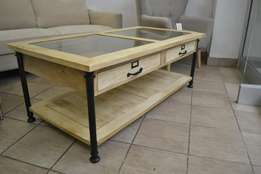 SALE NOW ON. Imported from France, mango wood coffee table.