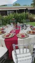 Wedding deco and stretch tents