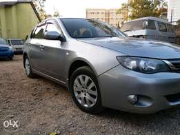 quick sale on hardly used imprezza just like Auris,Ist,ractis nze