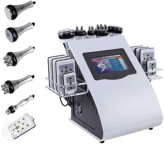 Cavitation and RF and Lipo laser and vaccum 7 in one machine
