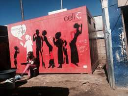 cellc container for sell R10000