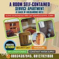 A room self-contained service apartment available