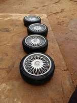 Selling set of 4 magwheels ,whatsaap for more information