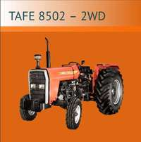 Tafe 8502-2wd new Tractor