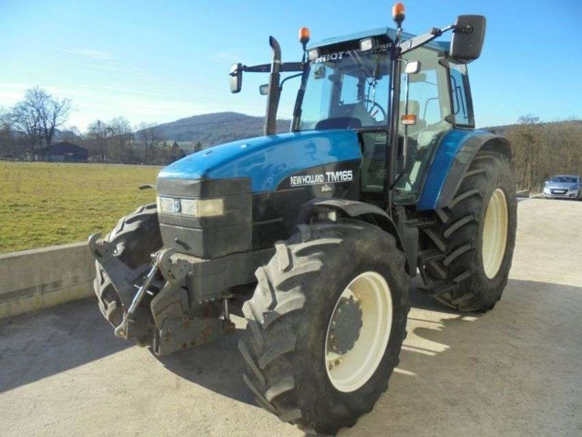 New Holland Tm 165 Power Command - 2000