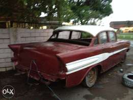 1957 pontiac star chief running !!! Swap or cash