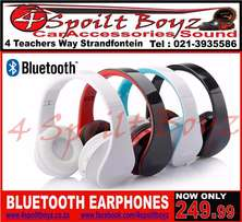 Earphones Bluetooth