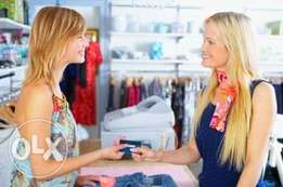 Shop attendant needed urgently