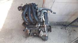 2007 Chevrolet spark complete engine with no compression for sale