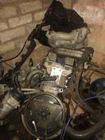 e36 318i complete engine with wiring and lock set t