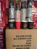 colorful disposable paper cups ( retail and wholesale prices)