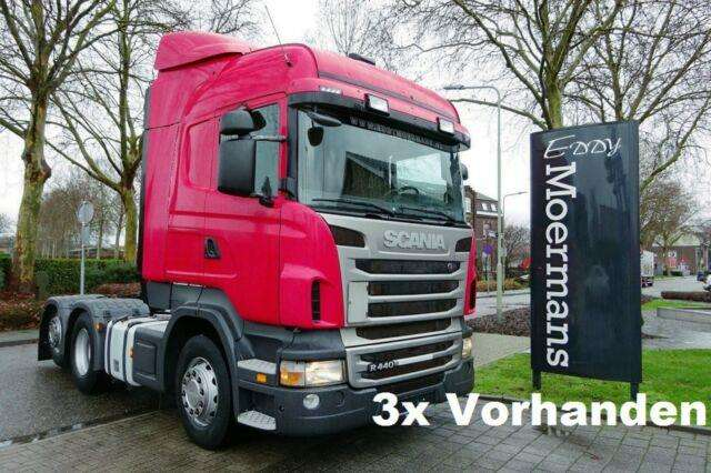 Scania R440 Highline 6x2 - 2012